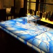 B-glass - Illuminated Bar Top - B&B contract Japan