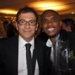 Gregg Brodarick with Samuel Eto'o